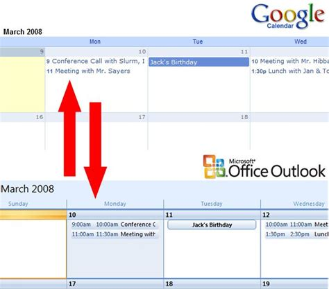 Calendar Sync Calendar Sync For Outlook 2010
