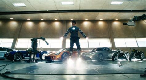 tony starks cars in iron man 2008 movie iron man s iconic supercar collection revealed