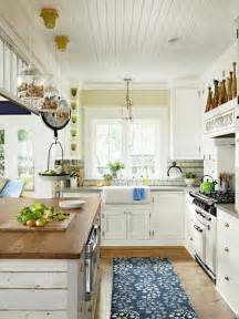 cottage style kitchen island 35 cozy and chic farmhouse kitchen d 233 cor ideas digsdigs