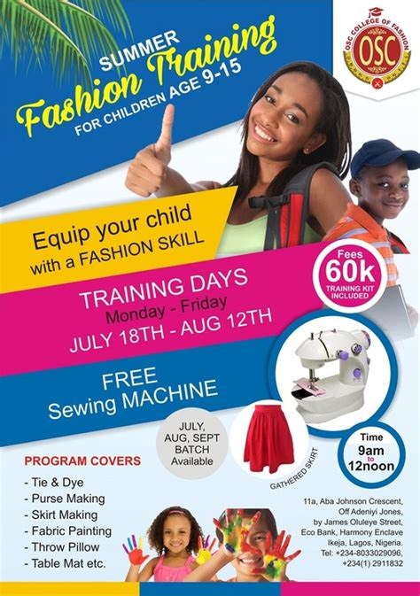 best fashion design school the best fashion design school in nigeria fashion