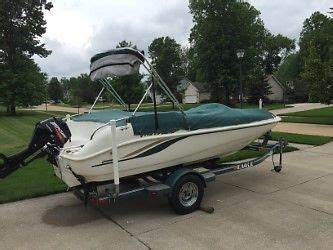 deck boat for sale in ohio 2005 hurricane gs170 deck boat used hurricane gs 170 for