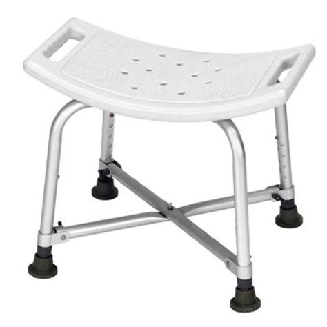 revolution mobility bariatric shower bench without back
