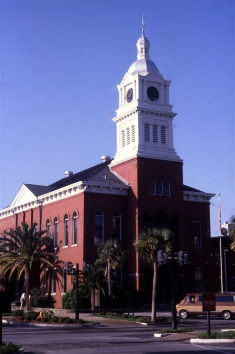 Nassau County Florida Court Records Florida Memory Nassau County Courthouse On The Southwest Corner Of Centre And 5th