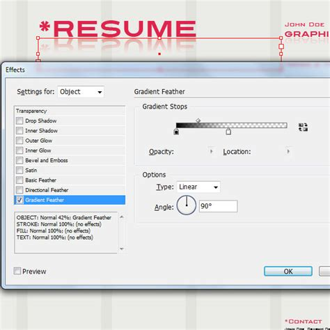 Create A Resume In Indesign by Using Indesign To Create A Designer Resume