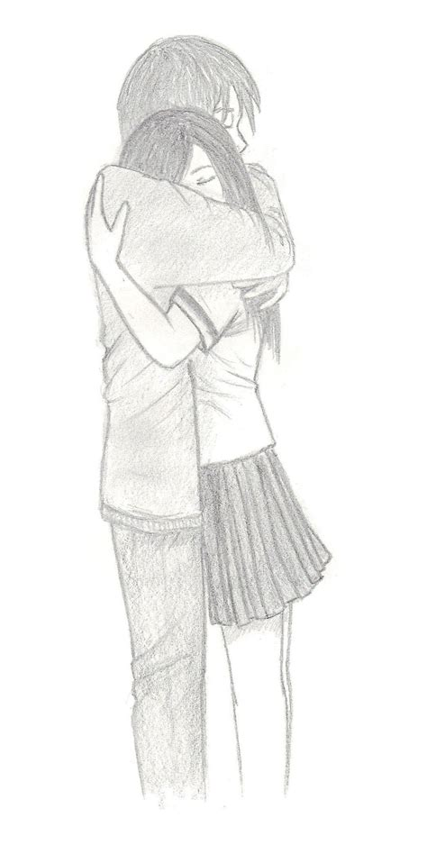 How To Draw A Couple Hugging Step By Step Easy Realistic Tiger