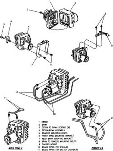 repair anti lock braking 1994 oldsmobile 88 electronic valve timing repair guides delco vi and delco bosch v anti lock braking systems electronic brake