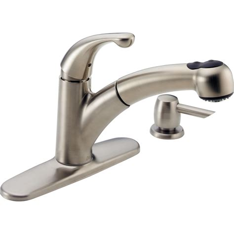 delta faucet 467 sssd dst palo brilliance stainless