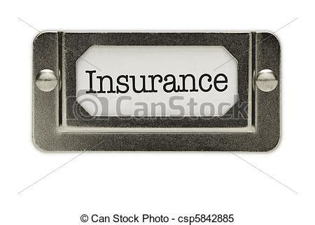 Auto Versicherung Daten by Stock Bilder Von Versicherung Datei Schublade Etikett