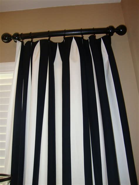 black and white striped bedroom curtains vertical striped curtains use canvas drop cloths 9x12