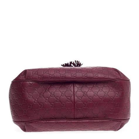 Gucci Emboss Sling Bag Medium Semi Premium gucci emily hobo guccissima leather medium at 1stdibs
