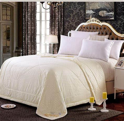 Silk Filled Quilt by New Mulberry Silk Filled Comforter Quilt Duvet Coverlet