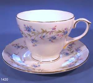 duchess tranquillity vintage bone china tea cup and saucer
