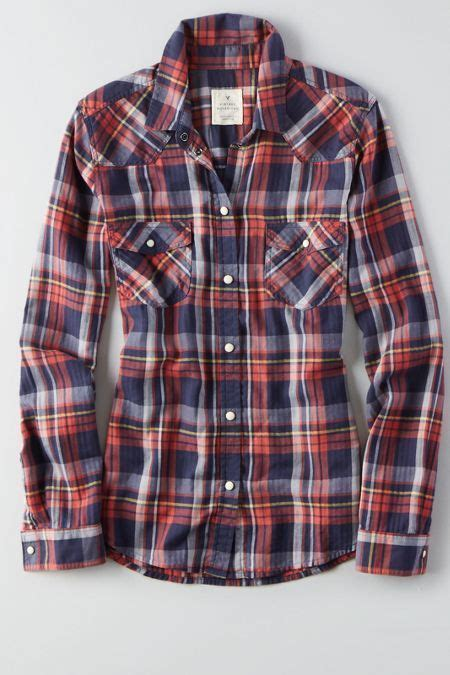 Kaos American Eagle 40 S M best 25 plaid shirt ideas on womens