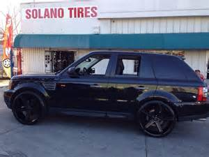 Car Tires Vallejo Ca 24 Quot Versante 228 All Black On 06 Rover Sport At Solano