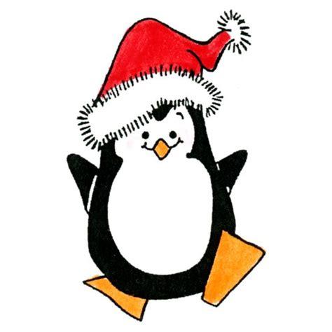 christmas penguin rubber st sku d454