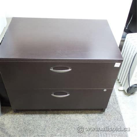 espresso lateral file cabinet artopex espresso 2 drawer lateral file cabinet allsold