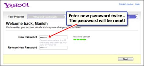 email yahoo password reset yahoo email password problems recover it to access you