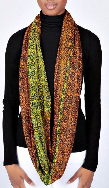 ankara crop top gift for her ethnic fashion ankara fashion african green infinity scarf african print scarf ankara scarf