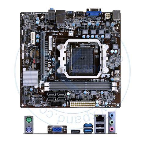 motherboard ecs a68f2p m4 v1 0 fm2 a68 ddr3 sata 6 0 usb 3 0 vd sn nw soporta