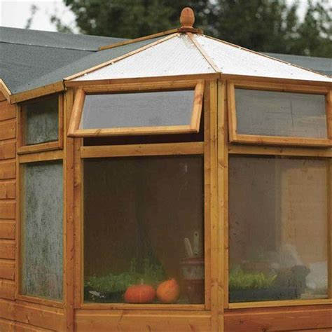 Plastic Corner Shed by 10 X 10 Corner Potting Tongue And Groove Shed 12mm Tongue
