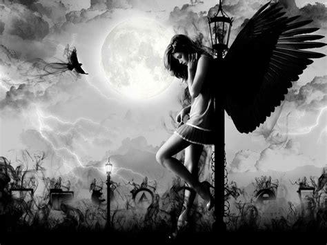 dark angel wallpaper hd wallpaper sad angel angel