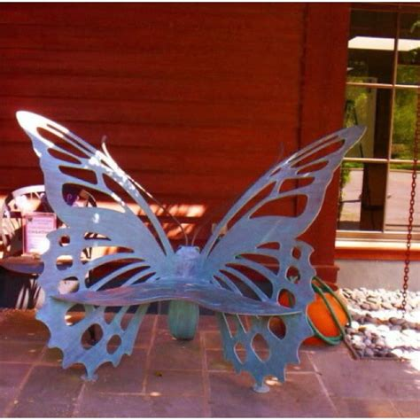 wrought iron butterfly bench butterflies butterfly chair and chairs on pinterest