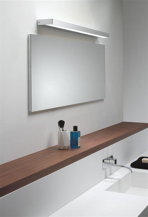 astro axios led ip44 bathroom wall light mirror light up