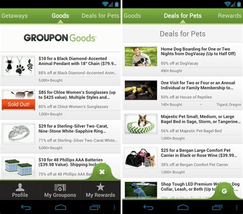 groupon deals groupon and updated in play groupon sees