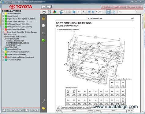 automotive repair manual 1994 toyota corolla spare parts catalogs toyota corolla verso
