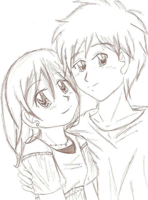 cute cuple hug and kissing sketch pics couple sketch by appliedalgebra on deviantart