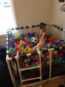 Cup of autism ball pit fun
