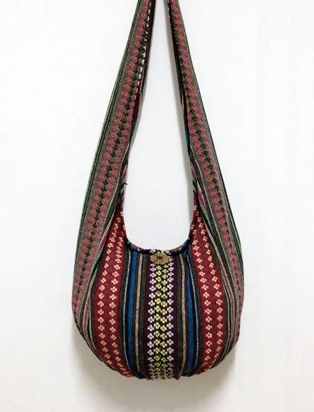handmade woven cotton bag hippie bag hobo bag boho by