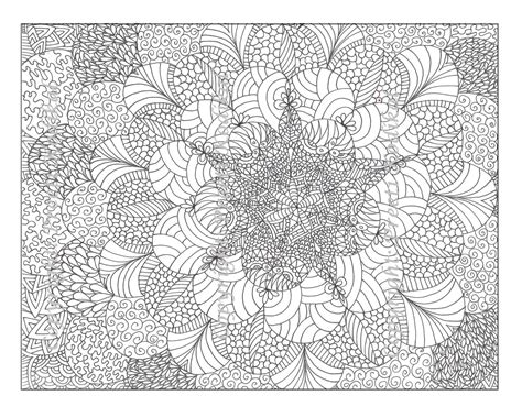 free abstract adult coloring pages