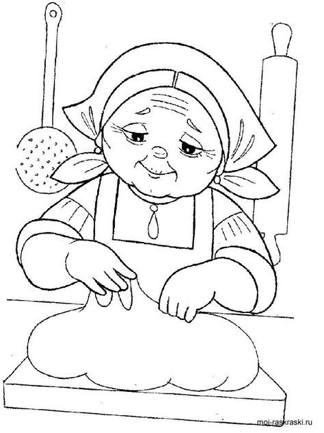 grandma coloring pages free printable grandma coloring pages