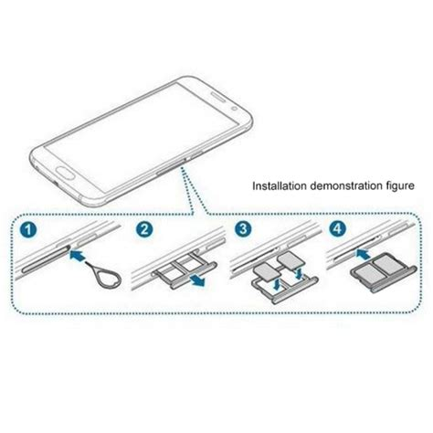 sim card template for samsung s6 dual sim card tray for samsung galaxy s6 in adapters from