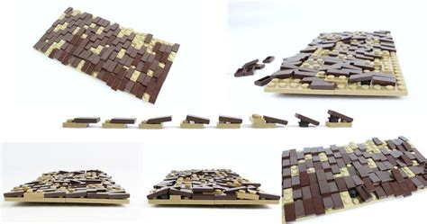 lego roof tutorial weathered shingle roof tutorial lego und dachs