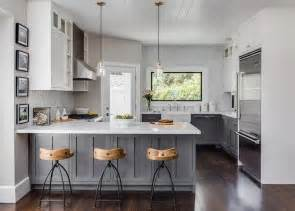 White And Grey Kitchen Cabinets view more kitchens 187