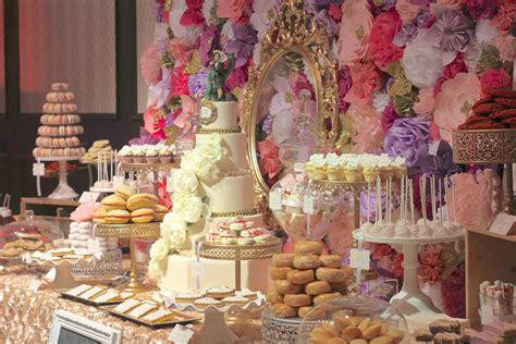 wedding dessert table dessert tables