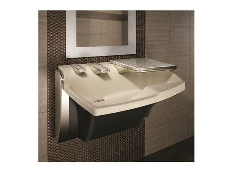 bradley sink with dryer sink faucet soap and dryer are one unit retrofit