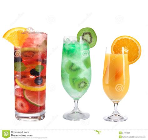 S W Fruit Cocktail fruit cocktails collection stock image image 24114391