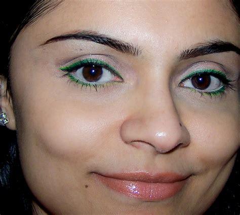 what color eyeliner for green edgy makeup for green mugeek vidalondon