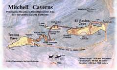 california caverns map mapgallery