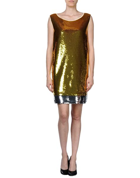 Get Macphersons Gucci Dress For 35 by Prada Gold Dress Lyst