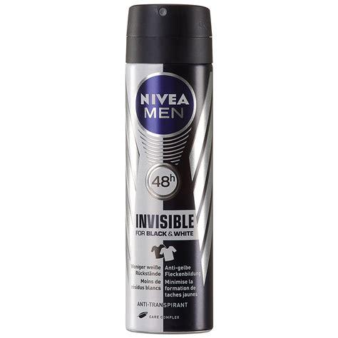 Nivea Black nivea 174 deodorant invisible black white spray shop