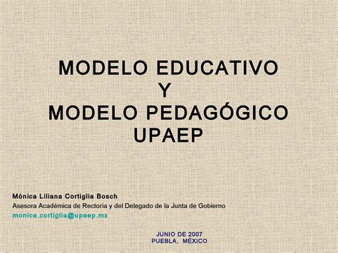 Modelo Curricular Pedagogico modelo educativo by ivonnestela martinez issuu