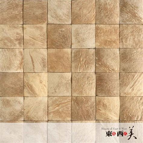 Decorative Mosaic Wall Tiles - decorative mosaic coconut tiles for wall decor coconut