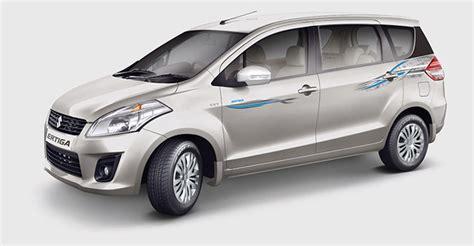 Maruti Suzuki Ertiga Maruti Suzuki Launches Ertiga Paseo Limited Edition Ndtv