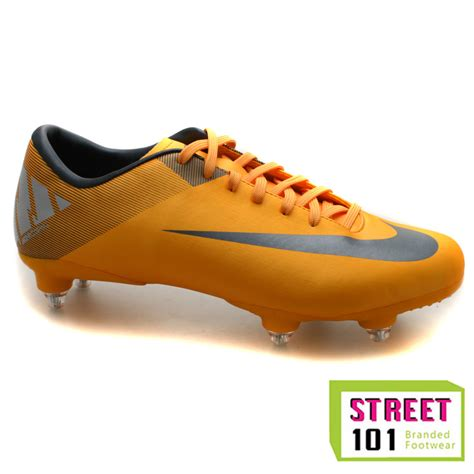 nike orange football shoes mens nike mercurial victory ii soft ground orange football