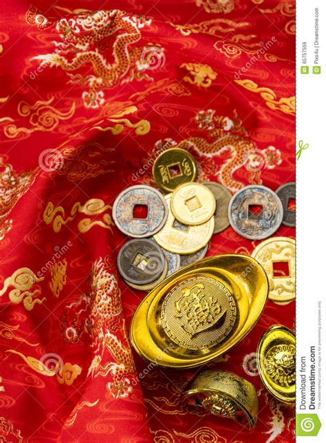 auspicious word for chinese new year new year decorations and auspicious ornaments on bac stock photo image 65757559