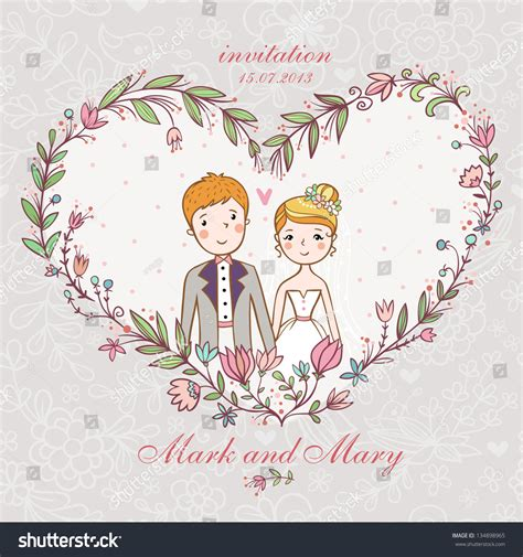 Concept Of Wedding by Concept Marriage Wedding Invitation Stock